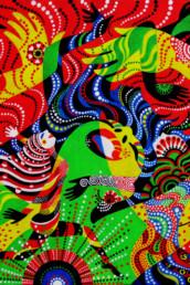 Summer of Love - acrylique sur toile