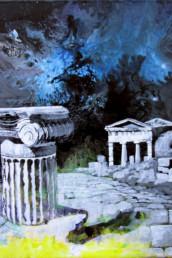 Oracle - Acrylique sur toile