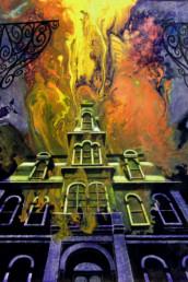 La couleur tombée du ciel - Acrylique sur toile