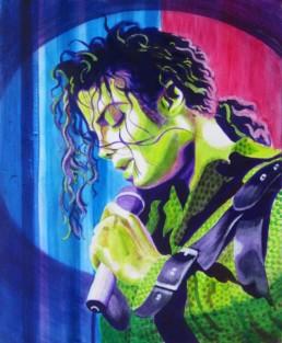 Michael Jackson - acrylique sur toile
