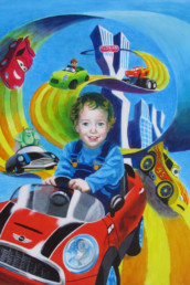 Florian - acrylique sur toile