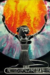 Isis - Acrylique sur toile
